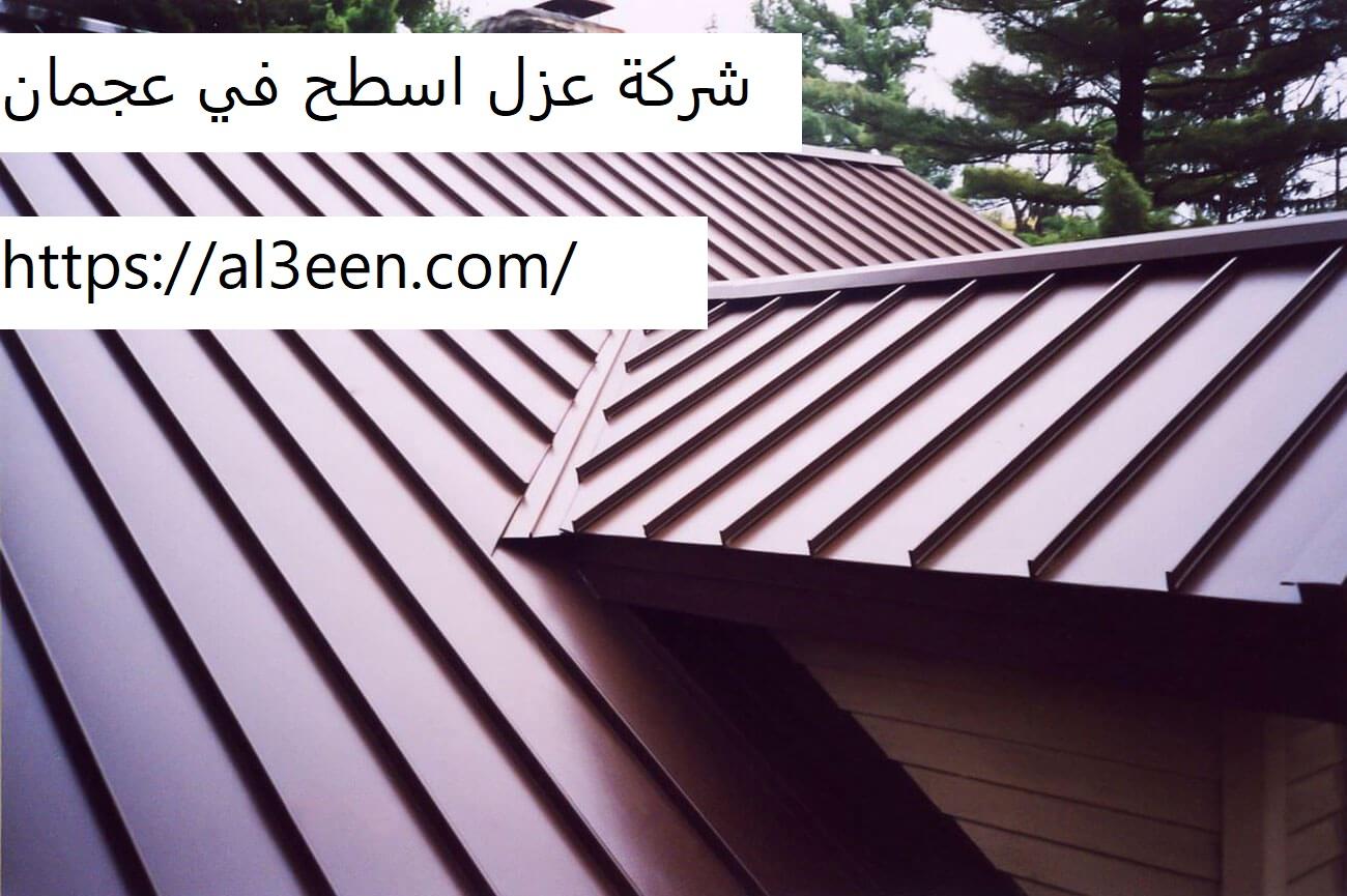 شركة عزل اسطح في عجمان